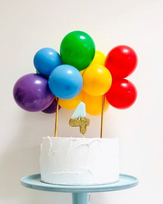 Balloon Cloud Cake Topper DIY Garland Banner