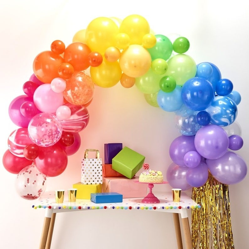 Create your own Balloon Arch Kit  Custom Colour Balloon Garland Birthday Balloons Party Backdrop Wedding Feature Party Decoration