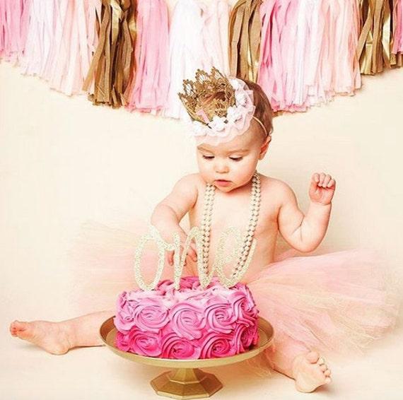 Astounding Age One Cake Topper First Birthday Girl Cake Topper 1St Etsy Funny Birthday Cards Online Barepcheapnameinfo