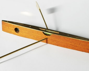 Spirit Level Boat Sculpture