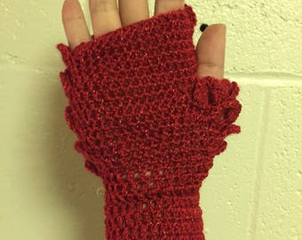 Mother of Dragons Khaleesi Gloves in Red