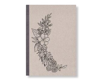 SKIZZENBUCH *Blumen*, DIN A5, 144 Seiten