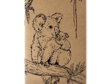 NOTIZHEFT *Koalabären on Tree*, A5