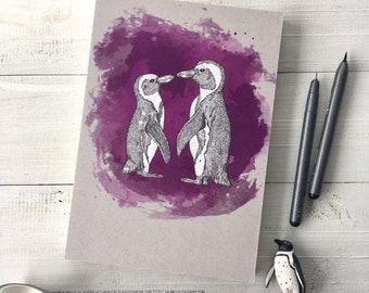 BULLET JOURNAL *Loving Penguins*, A5, 150 pages