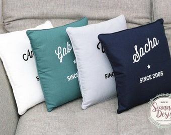Personalized pillow cover (Cushion cover only)