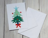 Christmas tree greeting c...