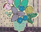 Original flowerl abstract...