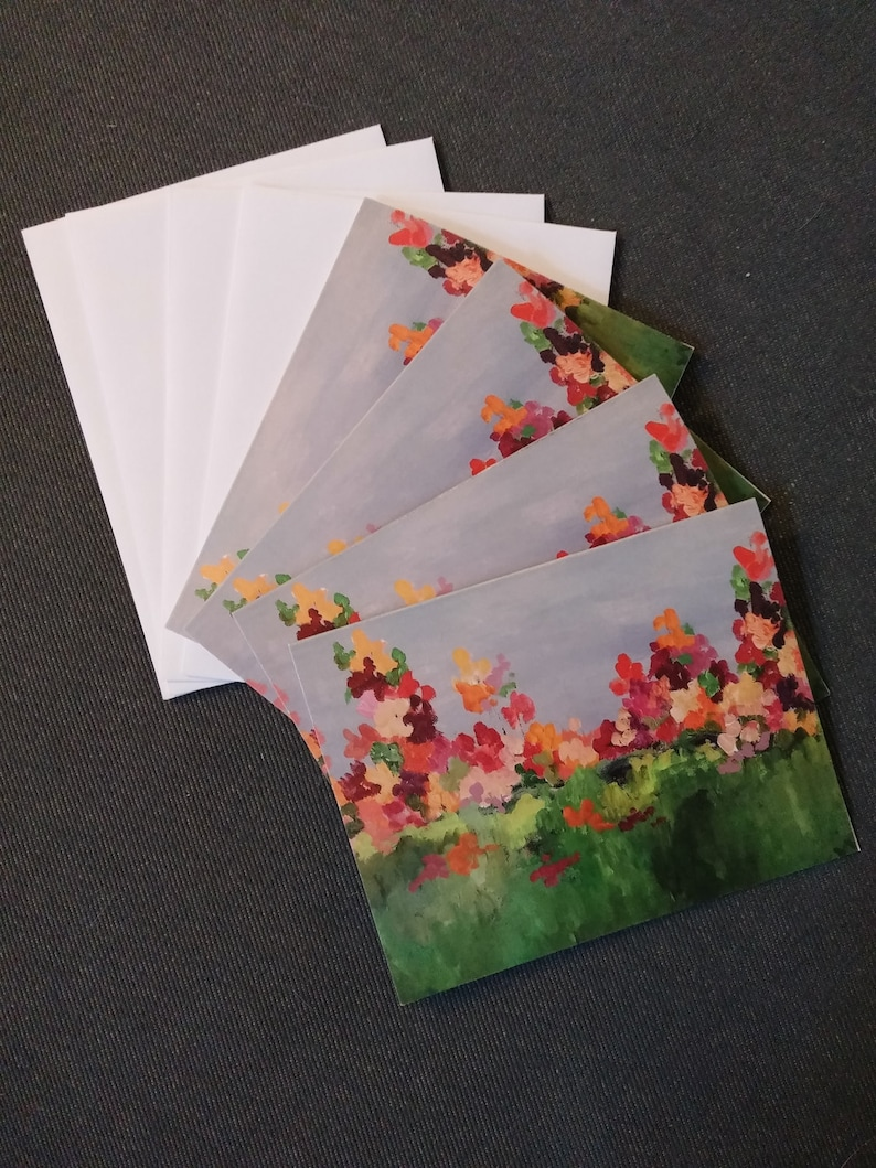 floral greeting cards garden floral greeting cards women's image 0