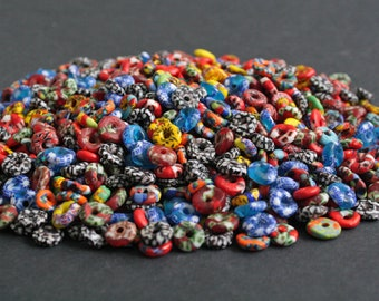 African Disc Beads