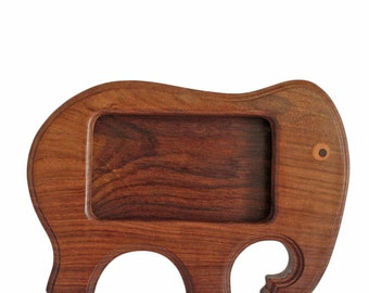 Wooden Elephant Photo Frame, Handmade Fair Trade