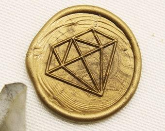 Diamond Ring Wax Seal Stamp wedding stamp sealing wax party wax seal stamp,initial wax seal stamp set C369