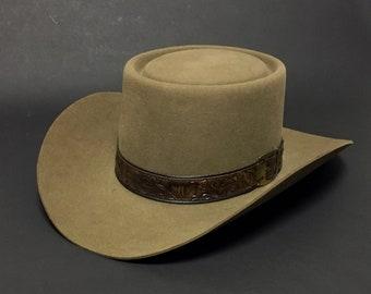 Gambler cowboy hat | Etsy