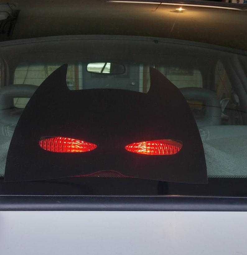 Batman Dritter Bremsleuchte Abdeckung Aufkleber