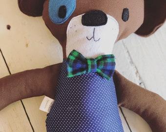 Boy Dog Stuffed Animal