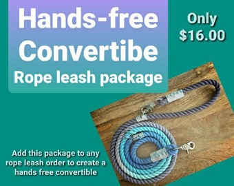 Convertible Leash Package (Add On)