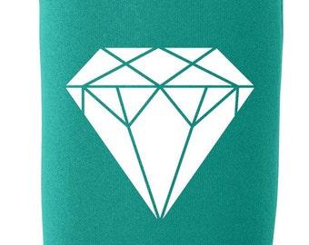 Unicorn Shu Du Fu Cup stainless steel koozie including free gift standard size koozie White diamond polyester glitter