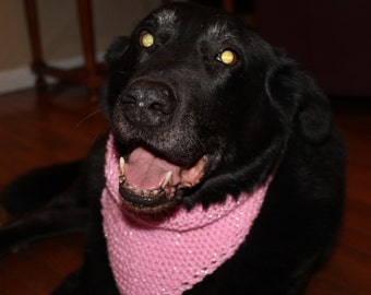Pink Diva Bark Bandana