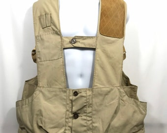 a55b2c07f1bd1 Vintage 10x Americas Finest Sport Clothing Hunting Shooting Vest Men's Size  42