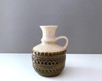 Mid Century Bay Ceramics, Vase 77-17, German Pottery, Vintage Interior
