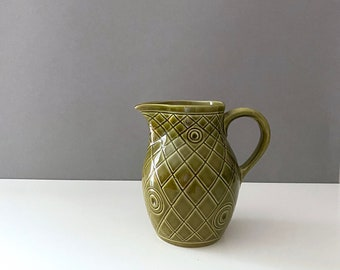 Vintage ceramic jug, jug, retro tableware