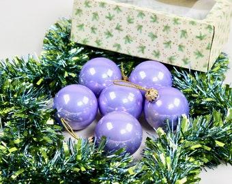 Weihnachtsdeko Lila.Lila Weihnachtsdeko Etsy