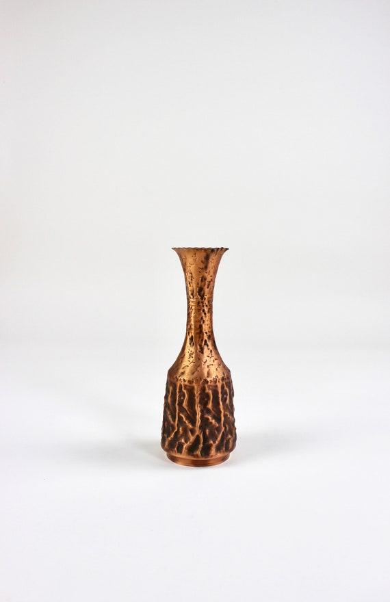 Mid Century Kupfer Vase Blumenvase Vintage Interior Home | Etsy