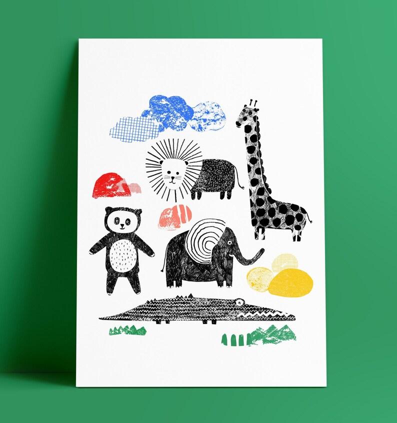 Jungle  print image 0