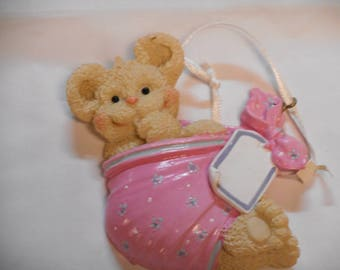 Girl Baby's 1st Christmas Bear Personalized Christmas Present