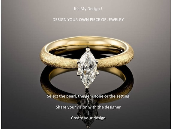 Custom Design Jewelry Promise Ring Silver Wedding Ring Engagement Ring Set His And Hers Boyfriend And Girlfriend Rings Unique Design