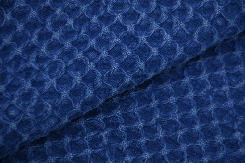 Waffle Blanket,Turkish Blanket,Turkish Bedspread,Waffle Bedspread,Stone Washed Blanket,Blue Blanket,95x67,Turkish Throw,B9-waffleB