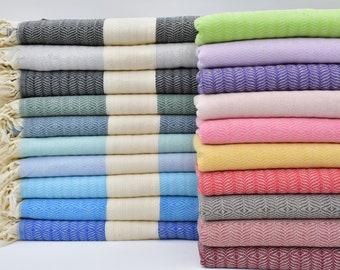 "Turkish Blanket,Turkish Throws,Turkish Bedspread,Beach Throw,Turkish Dowry,79""x89"",Aztec Blanket,Turkish Towel,B2-kumB"