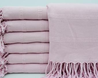 "Bath Towel,Turkish Towel,Organic Towel,Stonewashed Towel,Beach Towel,36""x70"",Turkish Peshtemal,Powder Pink Towel,Handmade Towel,B9-zeus"
