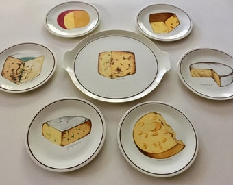 Villeroy & Boch Luxembourg - Set of 7 Cheese Platter -