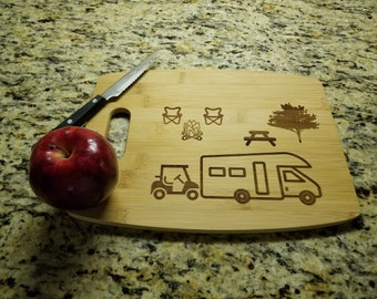 Wedding Gift Maui Shaped Bamboo Cutting Board Custom Engraved Housewarming Gift Couples Gift Personalized Maui Destinations Board