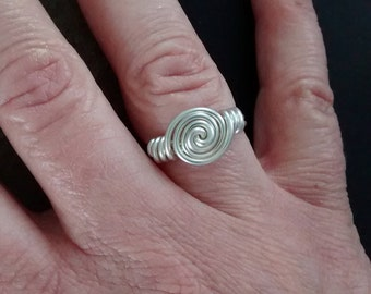 Sterling Silver Endless Ring
