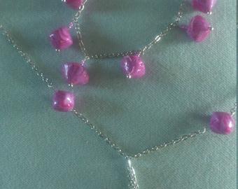 parure necklace bracelet