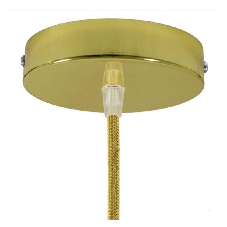 Senape gialla & spazzolato oro paralume Lightshade 20cm 25cm Ic7LyU6r