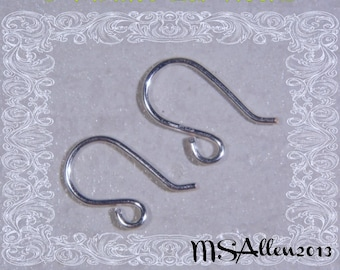 Easy French Ear Wires Tutorial // Jewelry Making Tutorial // DIY Jewelry // Jewelry Pattern // PDF Tutorial // Jewelry Instructions