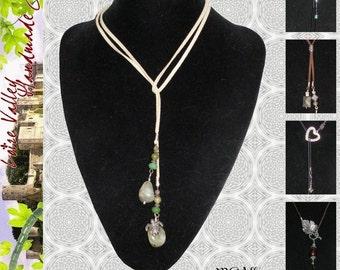 Lariat Tutorial // Necklace Tutorial // Jewelry Making Tutorial // DIY Jewelry // Jewelry Pattern // PDF Tutorial // Jewelry Instructions