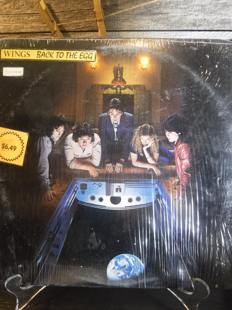 vintage vinyl album WIngs Back to the Egg 1979 Paul McCartney Chris Thomas  London