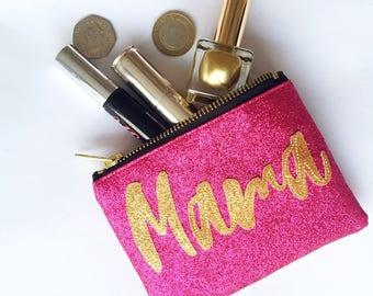 Mama purse Pink purse Mothers Day Gift