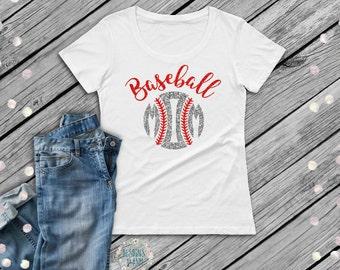 Baseball Mom Shirt-Baseball Shirt-Shirt for Baseball Moms-Baseball Tee-Baseball Tank Top-Baseball Life-Baseball Mama-Mom of Baseball Boys