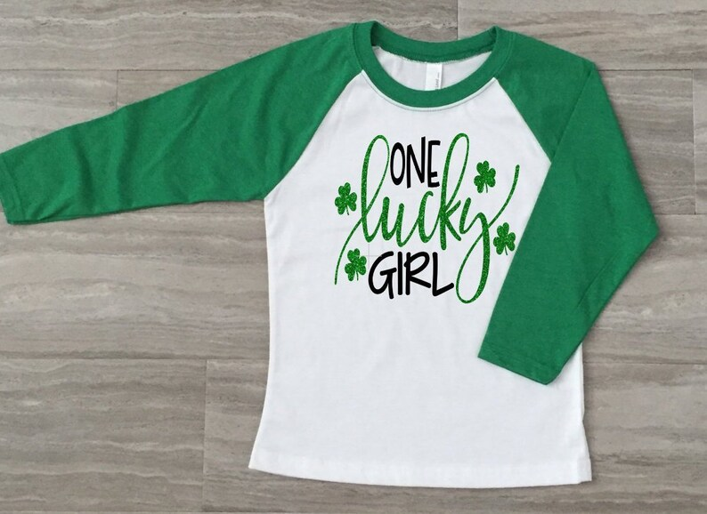 65006c3ef Girls St Patrick's Day Shirt-Kids St Patrick Shirt-St. | Etsy