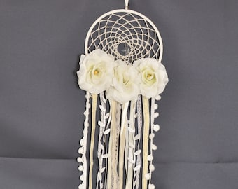 White Wedding Dream Catcher