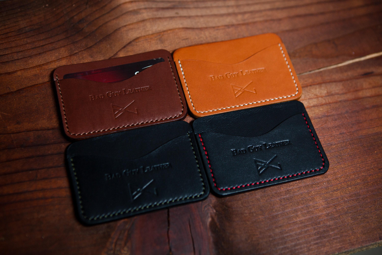 65e0d46849005 Front pocket classic wallet Mens Leather Wallet Slim Wallet