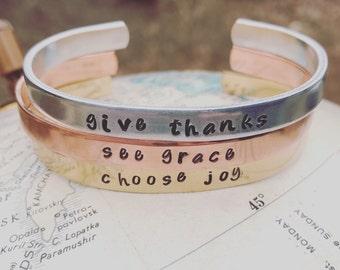 Give Thanks, See Grace, Choose Joy Trio