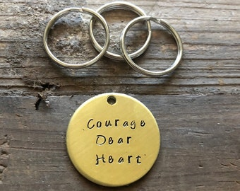 Courage, Dear Heart / Inspirational Gift / Chronicles of Narnia