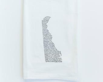 Delaware Bars Cotton Tea Towel