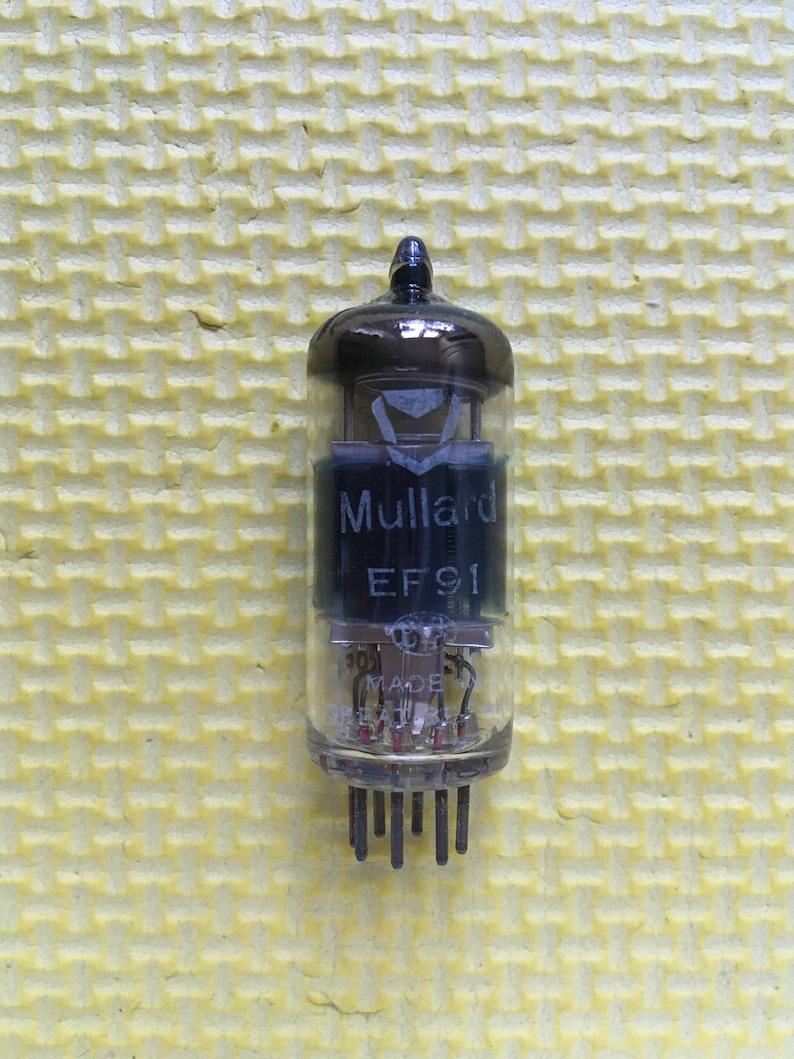 Mullard EF91 Vacuum Tube Valve NOS NIB