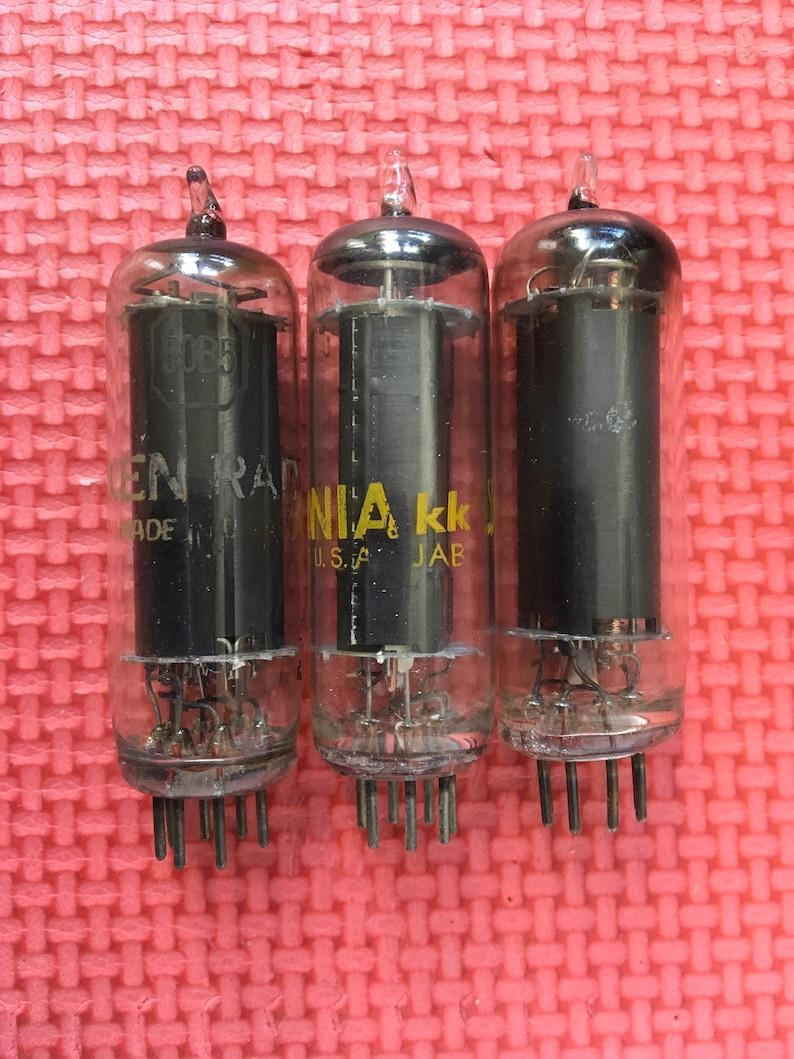3 US-Made 50B5 Tubes Vacuum Tubes Ampoules Buizen Röhren Valves